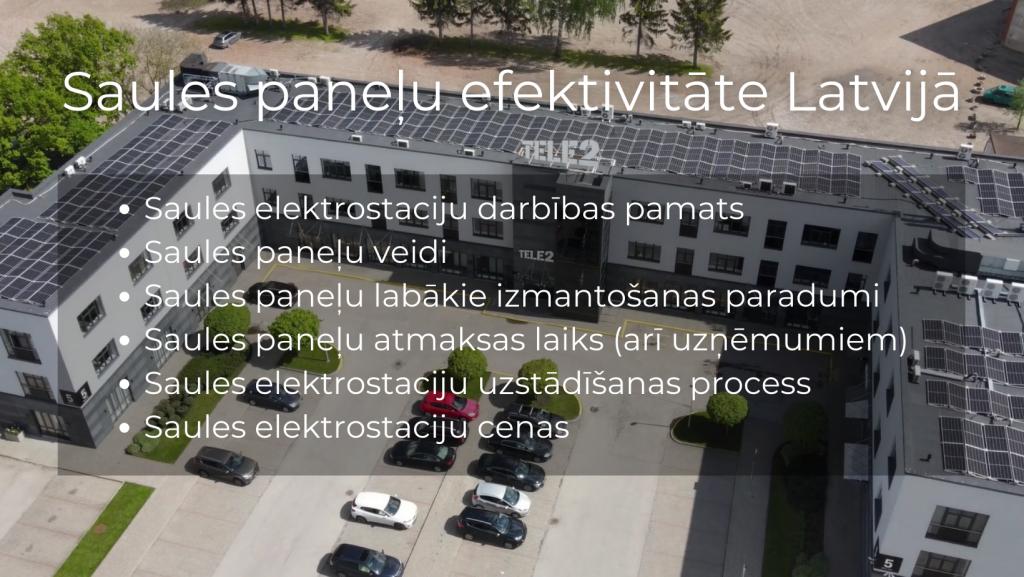 vebinars par saules panelu efektivitati latvija